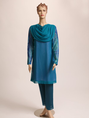 Turquoise Green Slack/Dress
