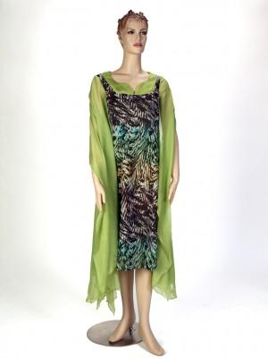 chiffon-Scarf Dress