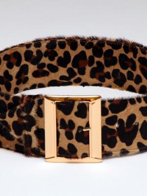 Ladies' Animal Print Belt