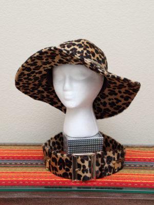 Animal Print Hats/Belts