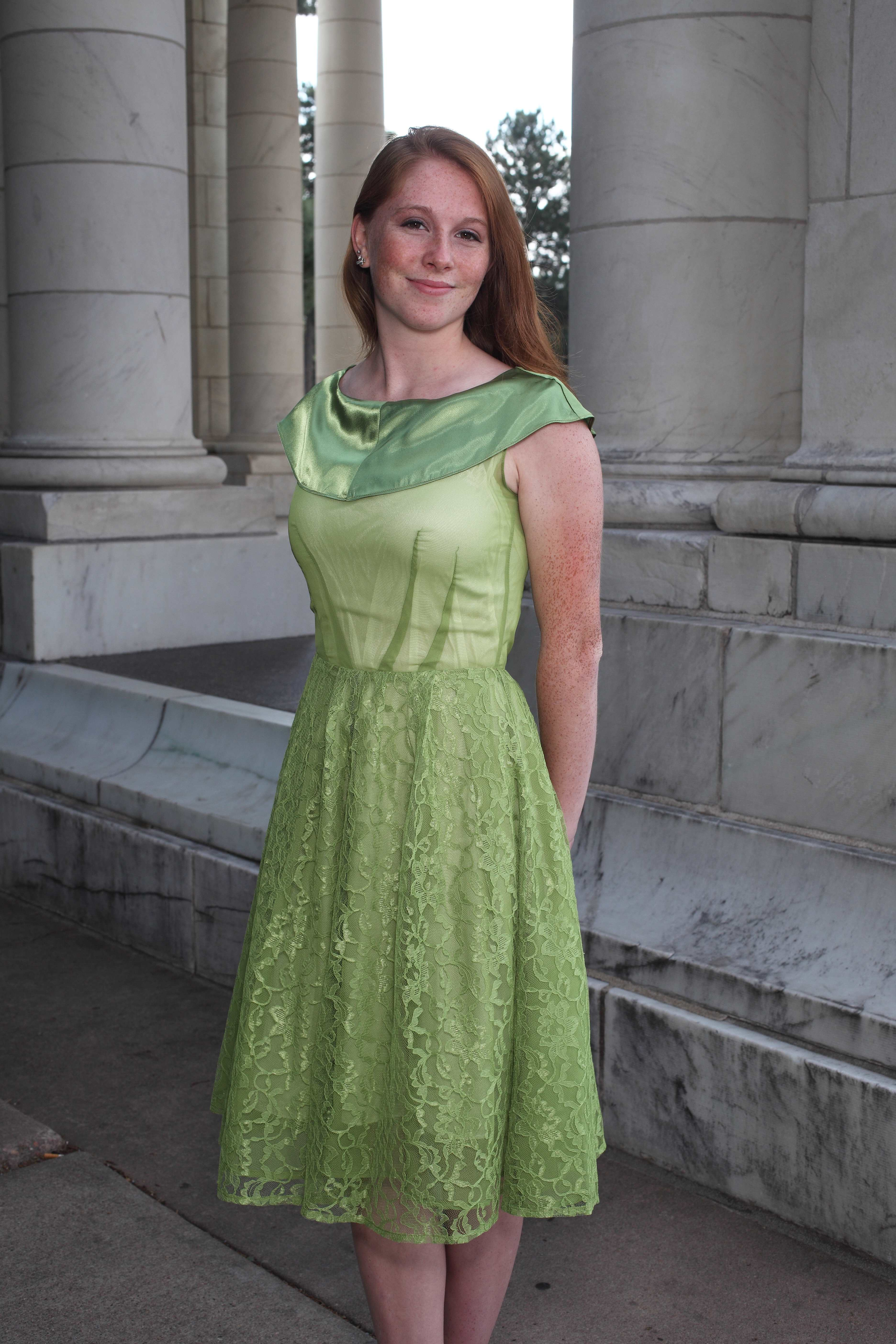 Lime Green Dress